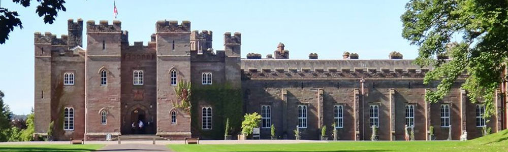 Scone Palace in Perthshire Scotland