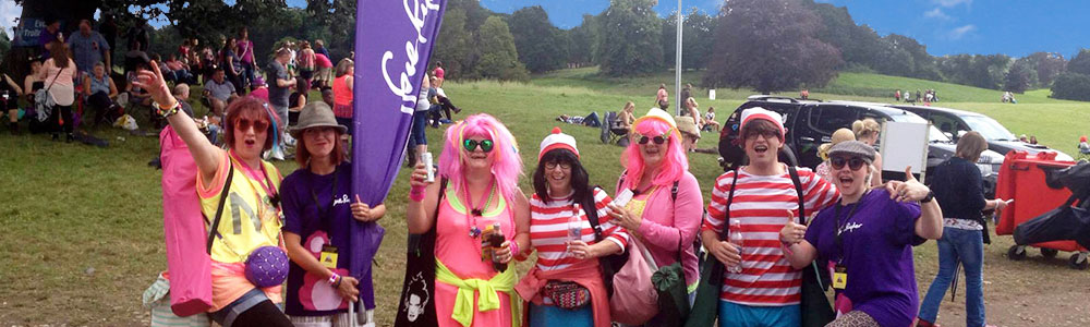 Sue Ryder charity at Rewind Festival 2018